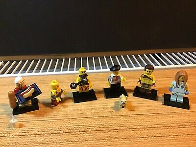 Lego 2017 Bundle Of 6 Minifigures Some Complete With Accessories As Photos 71018