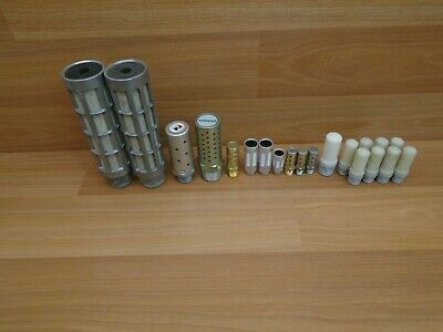 20 Pc. Lot SMC,Numatics, Ross, Festo Muffler Silencers