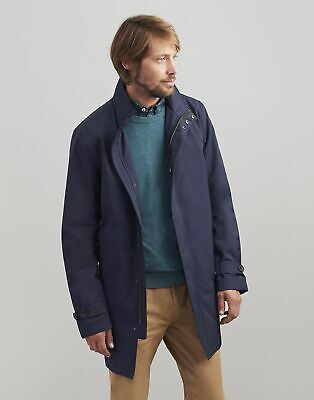Joules Mens The Waterproof Mac - MARINE NAVY