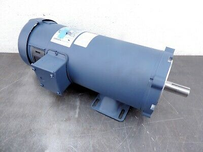 Leeson 108262.00 1.5 Hp 1750 Rpm 56C Frame 180 Volt Electric Motor  New Free Shi