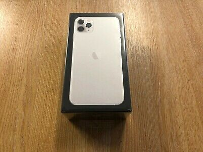 Apple iPhone 11 Pro Max - 64GB - Silver Unlocked A2218 Brand New Factory Sealed