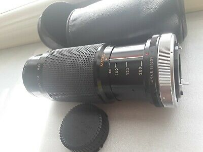 Kiron 80-200mm f/4.5 Zoom Lens for Canon FD Mount W Case