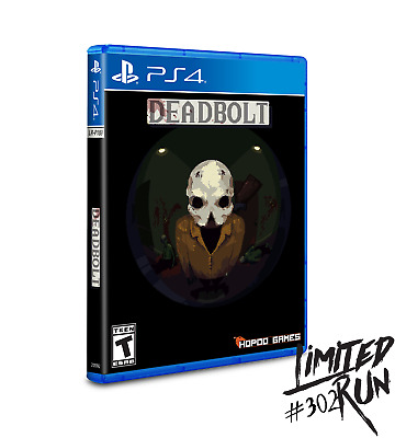DeadBolt PS4 Playstation 4 Limited Run Games #302 LRG 2000 WW Brand New Sealed