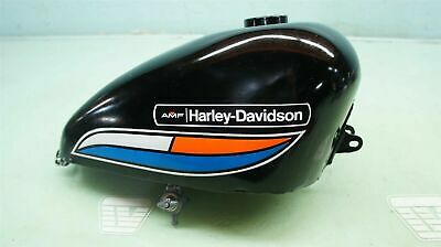 For Harley Davidson Style 1972 Xlch Sportster Red White  Blue Gas Tank Fender