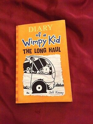 Diary Of A Wimpy Kid By Jeff Kinney- The Long Haul