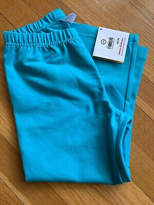 Hanna Andersson Size 140 10 Year Blue Capri Cotton Leggings