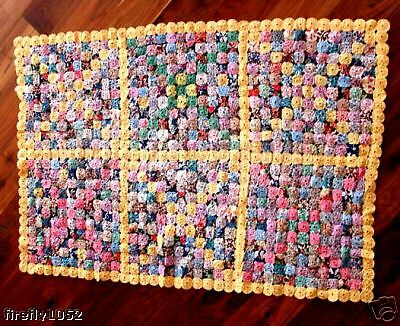 Very Rare Mint Collectable 1920'S Yo Yo Childs Quilt