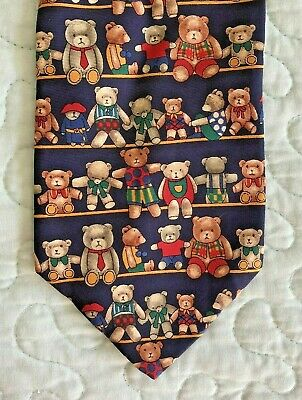 St. Michael from Marks & Spencer London Silk Tie Teddy Bears