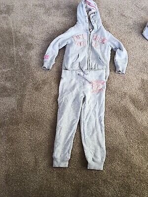 Next Girls Great Pine Rock Tracksuit Hoodie And Jogging Bottoms Age 6 Years