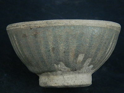 Ancient Large Glazed Bowl Islamic 1200 AD #S4571