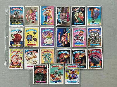 Lot of 21 Vintage Garbage Pail Kids Cards 1986 1987 Stickers