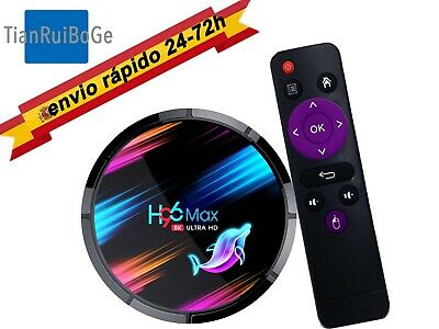 H96 MAX X3 Android 9.0 TV BOX Quad core Amlogic S905X3 2.4/5G WIFI 8K BT TV CAJA