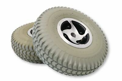 "Rear Drive Wheels Rascal 235 245 305 600 Mobility Scooter | Pneumatic 10""x3"""