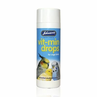 Johnsons Multi Vitamins Daily Additive for Parrots Parakeets Budgie Birds