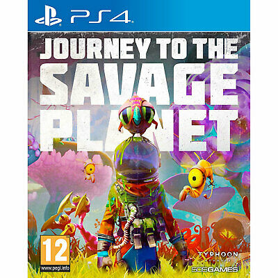 Journey To The Savage Planet PLAYSTATION PS4 New and Sealed