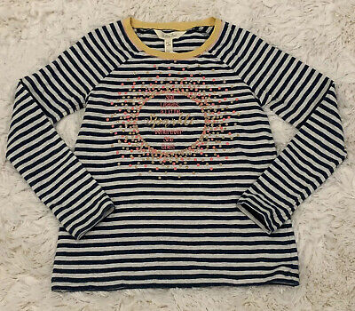 Matilda Jane SPARKLE AND SHINE Tee Top 6 Girls Graphic Striped Make Believe