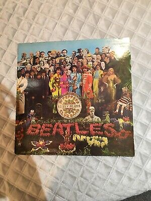 beatles sgt peppers lonely hearts club band vinyl