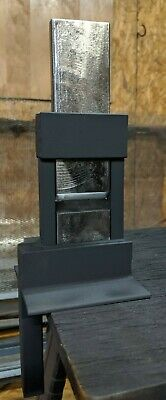 """Blacksmith Guillotine Tool, 3/4"""" Hardy Hole, 4 Sets Of Dies, Free Shipping!!!"""
