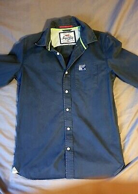 SUPERDRY TAILLE S Superbe chemise manches longues homme