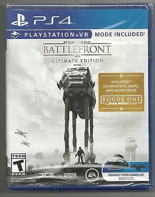 Star Wars Battlefront Ultimate edition with VR mode . BRAND NEW . sealed . PS4