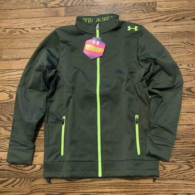 Mens Brand New with Tags Under Armour ColdGear Infrared Grid 1/2 Zip Large $110