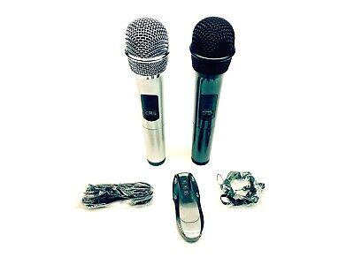 UHF Karaoke System Replacement with 2 mics