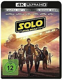Solo: A Star Wars Story 4K Ultra HD [Blu-ray] de Howard... | DVD | état très bon