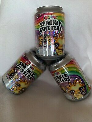 Lot of 3 Poopsie Sparkly Critters Can Magically Poop or Spit Slime D2