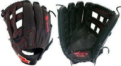 """LHT Lefty SSK S1799HL 12.5/"""" Highlight Pro Series Outfield Baseball Glove H-Web"""