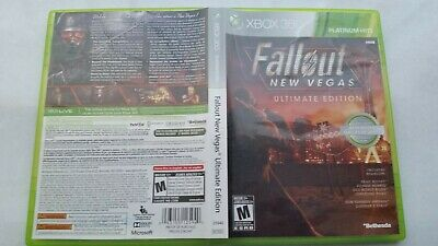 Fallout: New Vegas -- Ultimate Edition Microsoft Xbox 360 Complete Authentic