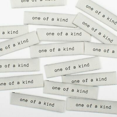 """"""" One of a Kind """"  Sew In Woven Tags - Clothing Labels pack of 8 by KATM"""