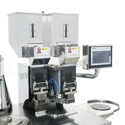 Semi Automatic Cap. Filling Machine- Double loading system-up to 50,000 pcs /hr