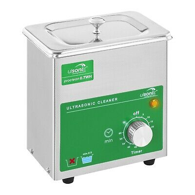 Ultrasonic Cleaner Ultrasonic Cleaning Bath Jewellery Cleaning Timer 60W 230V