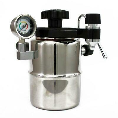 Bellman CX25P Stovetop Espresso Coffee Maker and Steamer Stainless Steel - NEW