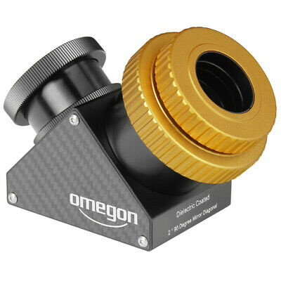 Omegon Carbonline Mirror Star Diagonal 90°, 2'', SC Thread, 99% Dielectric