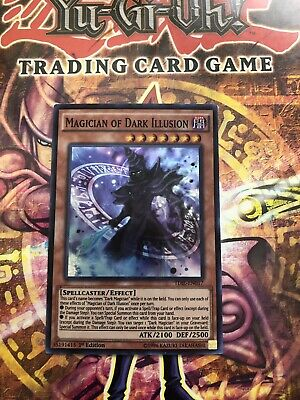 1st Edition-Destiny S Super Rare YGO-1x-Near Mint-Dark Illusion DESO-EN060