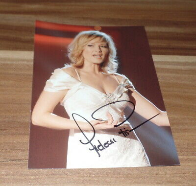 (S6) Helene Fischer, Originale Firmato Photo 13x18 cm, Adulto Sexy