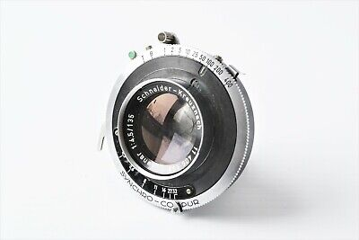 Schneider Kreuznach Xenar 135mm f4.5 Lens for 4x5 Film Cameras, PARTS OR REPAIR