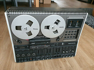* Philips N4506 Taperecorder Magno Control - Vintage High End Reel to Reel TOP *