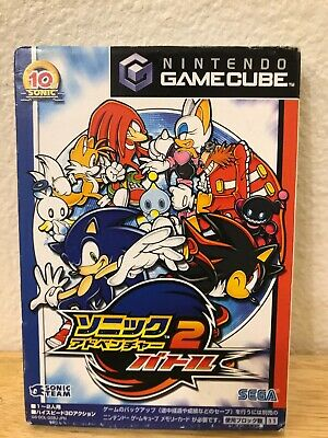 Gamecube ​​Sonic Adventure 2 Battle Japan Version-Keegan