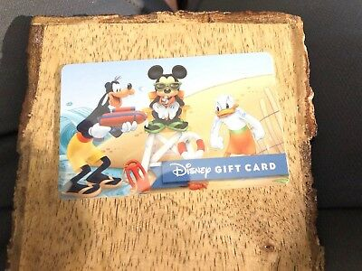 Disney Gift Card - Mickey Mouse & Friends At The Beach- No Value
