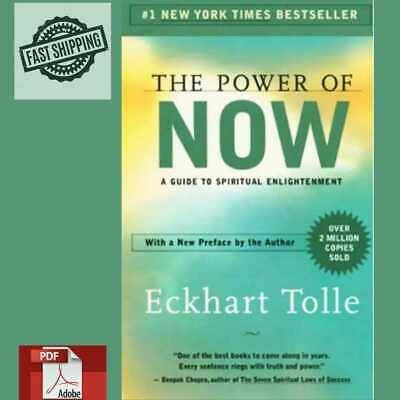 The Power Of Now: A Guide To Spiritual Enlightenment By Eckhart Tolle {P-D-F}