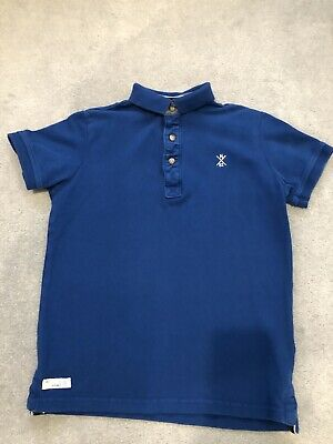 Boys Next Blue Polo Shirt Age 10 Years.
