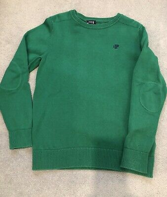 Boys Next Green Jumper Age 10 Years