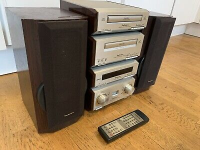Full Technics HD 560 Hifi System Cd Player Tuner Amplifier Speakers