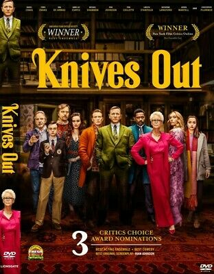 Knives Out (2019) DVD Pre-Order Now Feb 25/2020
