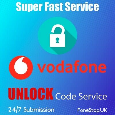 VODAFONE UNLOCK CODE NOTE 10,10 PLUS, NOTE 9, NOTE 8  Vodafone UK
