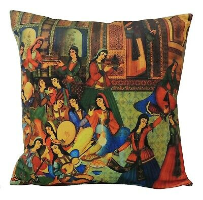New Persian Iranian Bazm Daf Party Traditional Cushion Cover Pillow Case Nowruz
