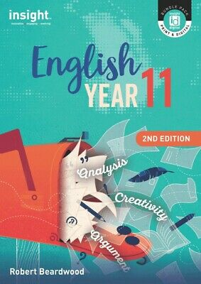 Insight English Year 11 2nd edition by Robert Beardwood - ISBN 9781925778137