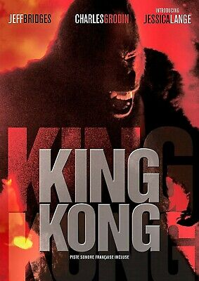 NEW DVD- KING KONG - Jeff Bridges, Jessica Lange , Charles Grodin -1976 CLASSIC